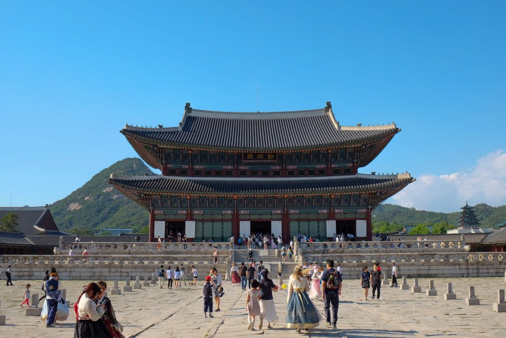 Geunjeongjeon Hall at Gyeongbokgung Palace
