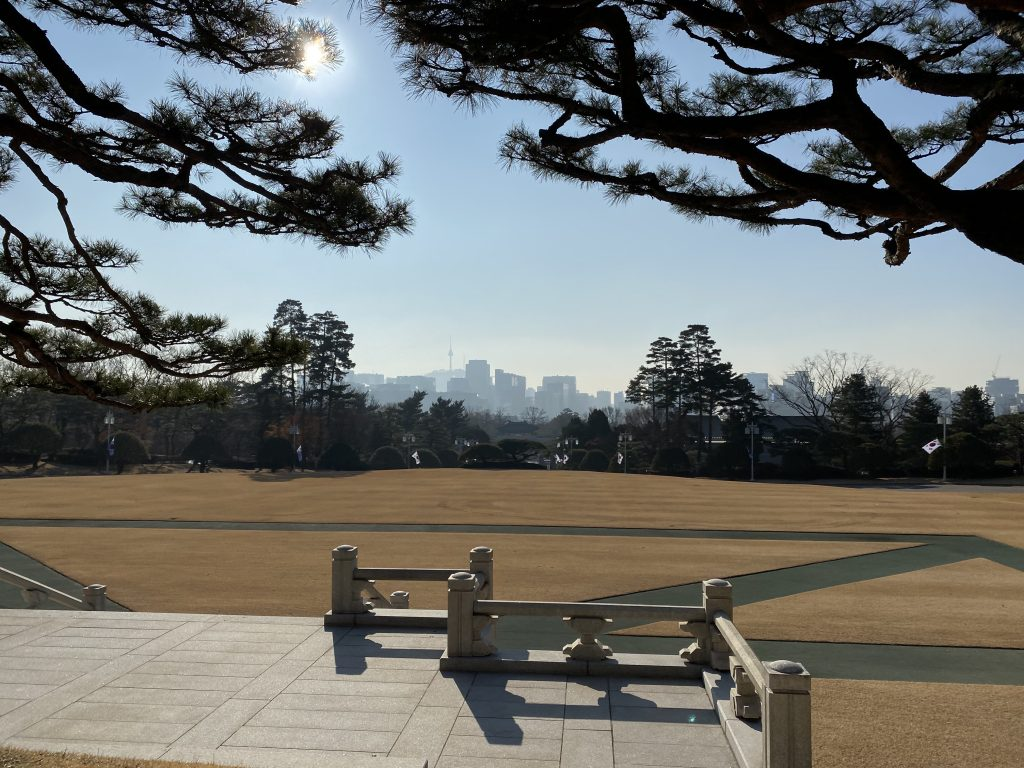 View from Cheong Wa Dae