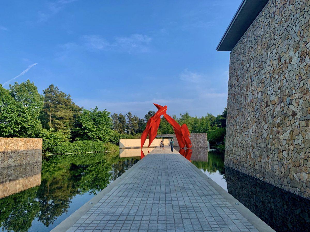 Water Garden at Museum SAN