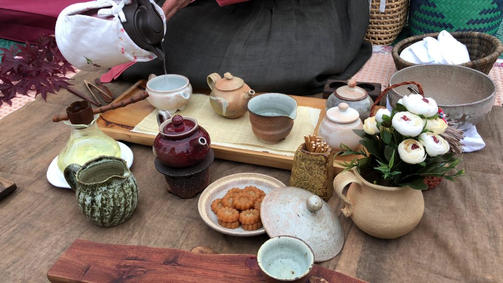 Boseong Green Tea Festival Tea Ceremony
