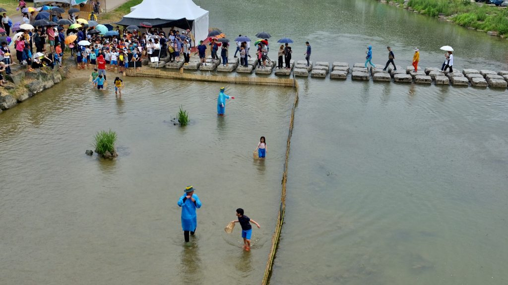Damyang Bamboo Festival Fish Catching Game