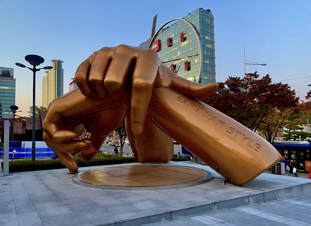 Gangam Style Hands Monument