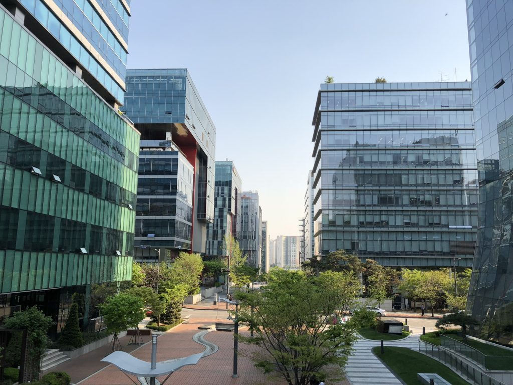Office Buildings at Pangyo Tech Valley