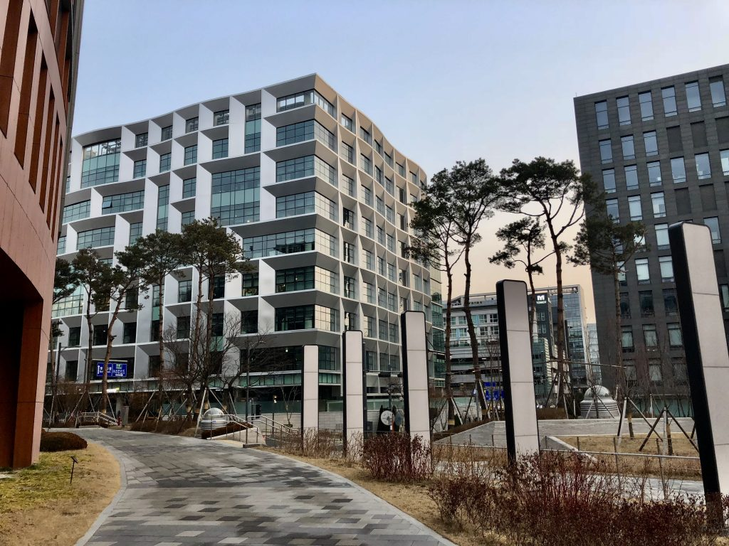 Pangyo Startup Campus view from the Campus