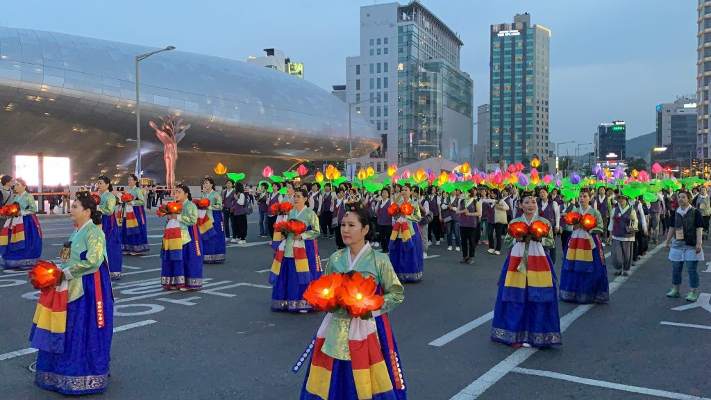 Seoul Lantern Festival Procession DDP