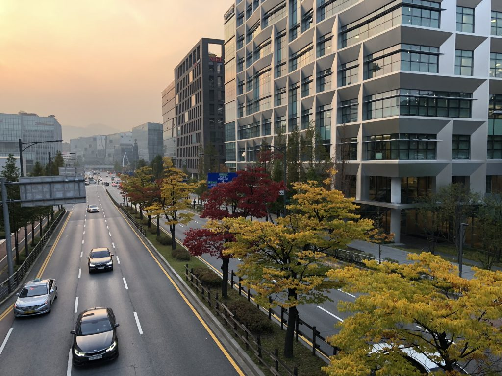 Sunset at Pangyo