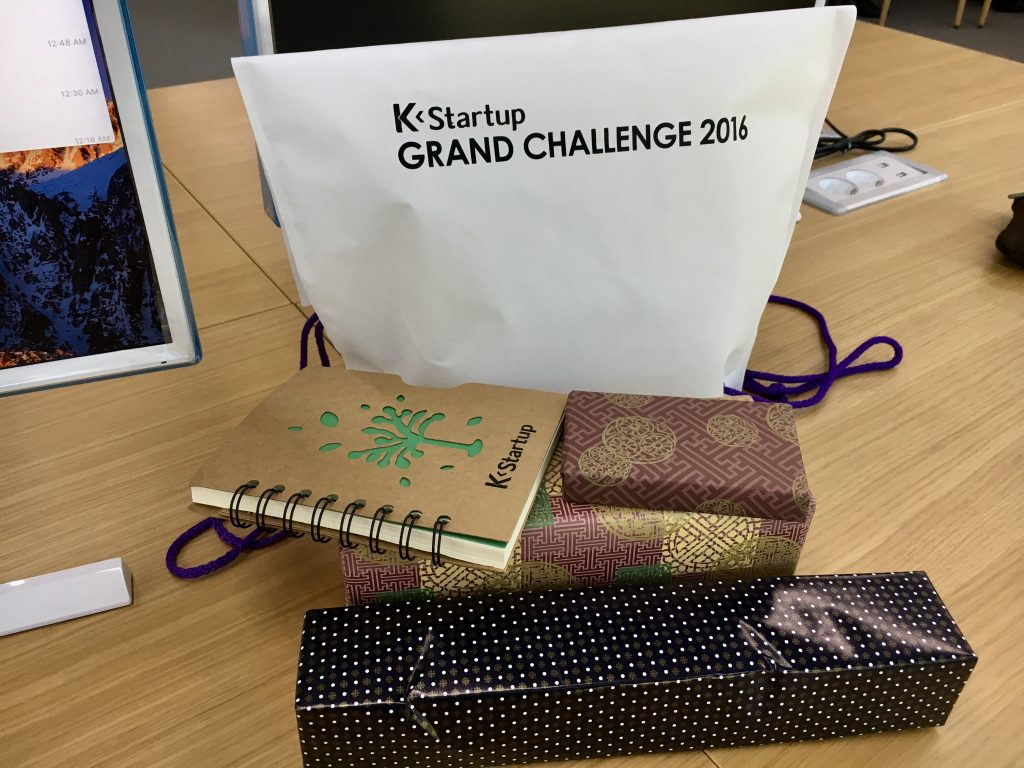 Welcome Pack at K Startup Grand Challenge