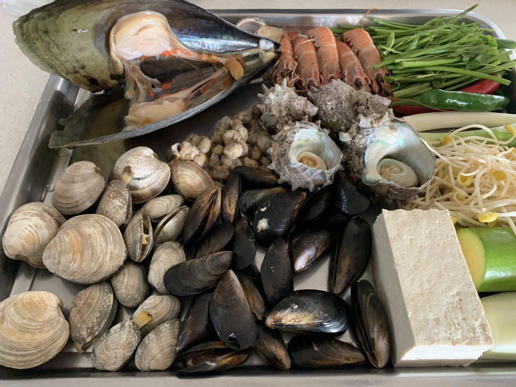 Sea food fest from Jeju
