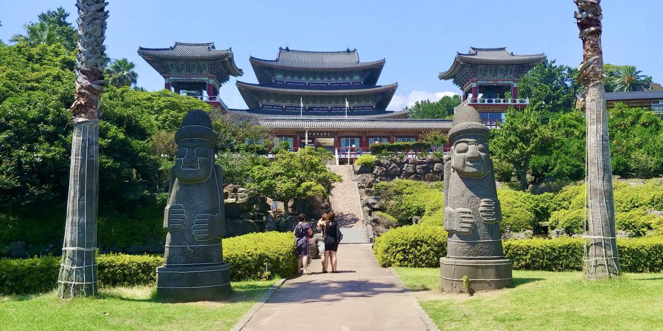 Yakcheonsa Temple Guardians