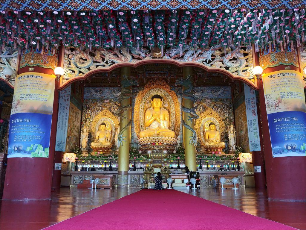 Yakcheonsa Temple Buddha