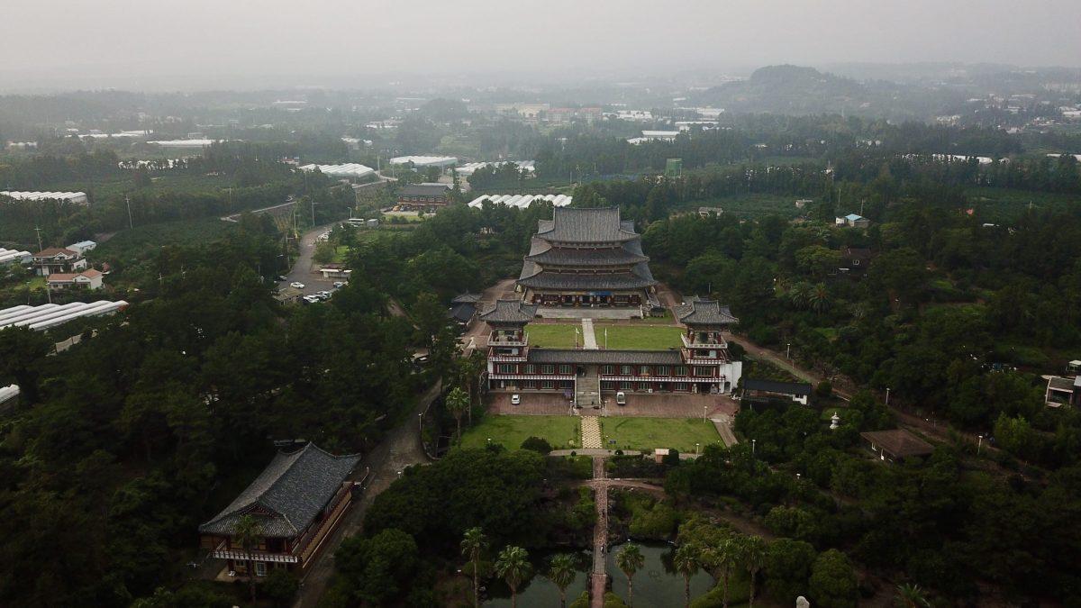 Yakcheonsa Temple Arial View