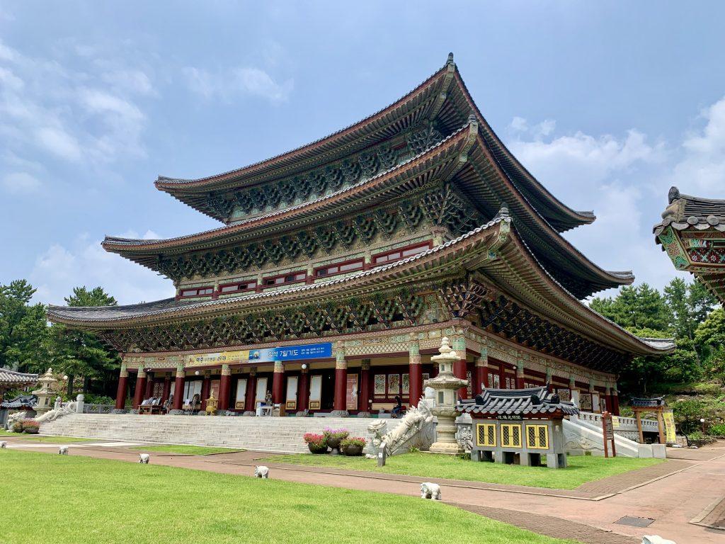 Yakcheonsa Temple 3 Story Prayer Hall