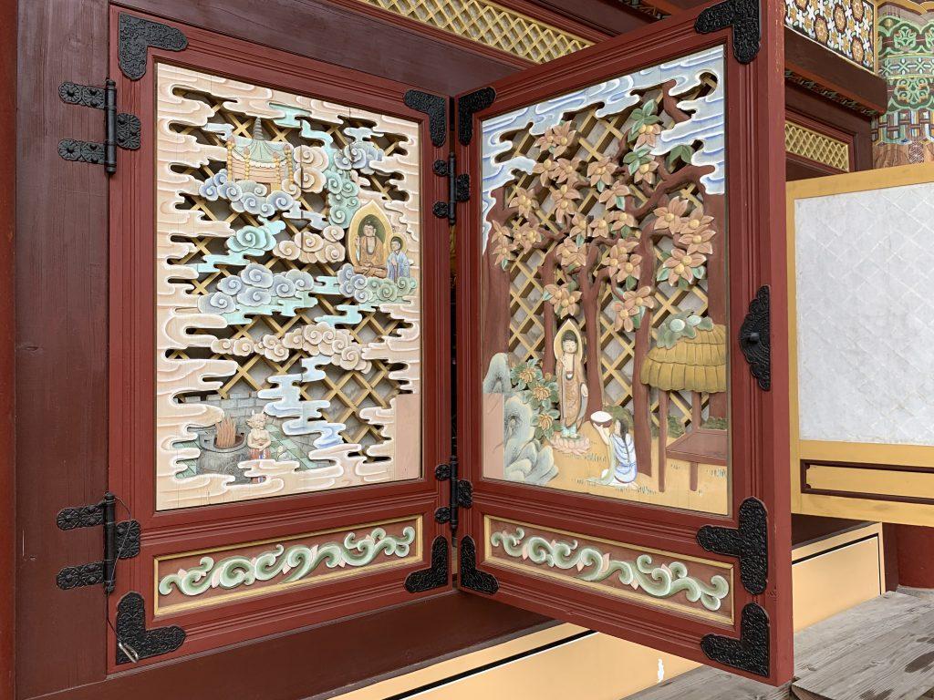 Yakcheonsa Temple Panels