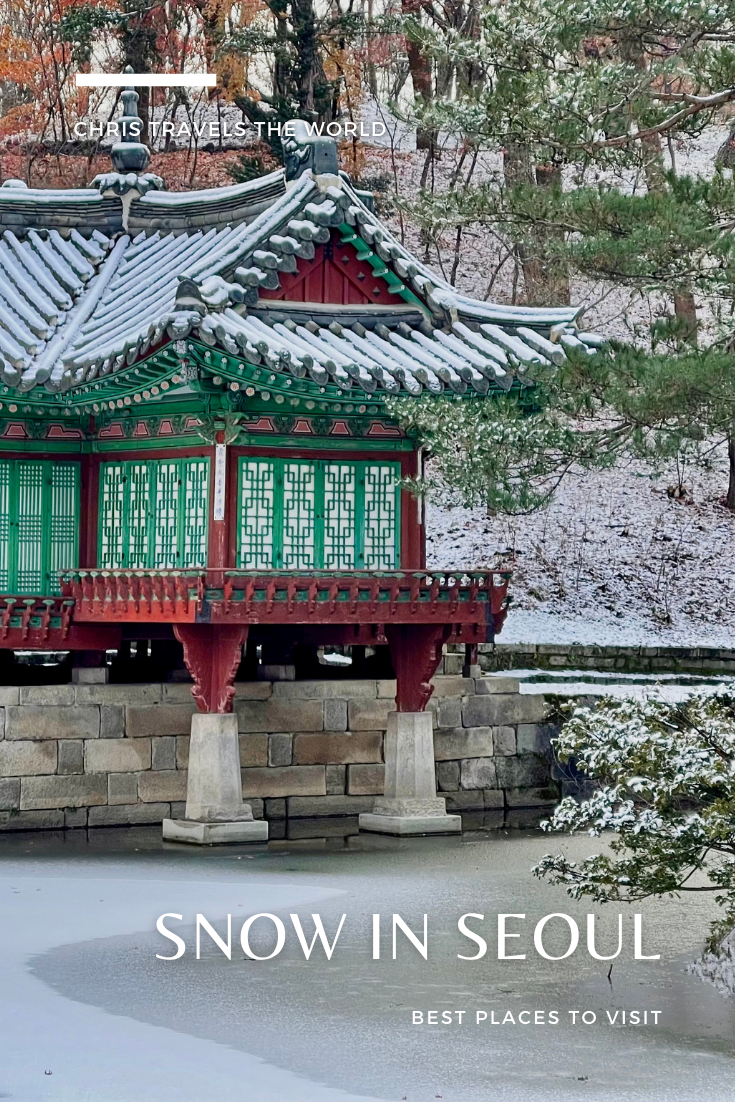 Best Places to Visit in Seoul covered in Snow