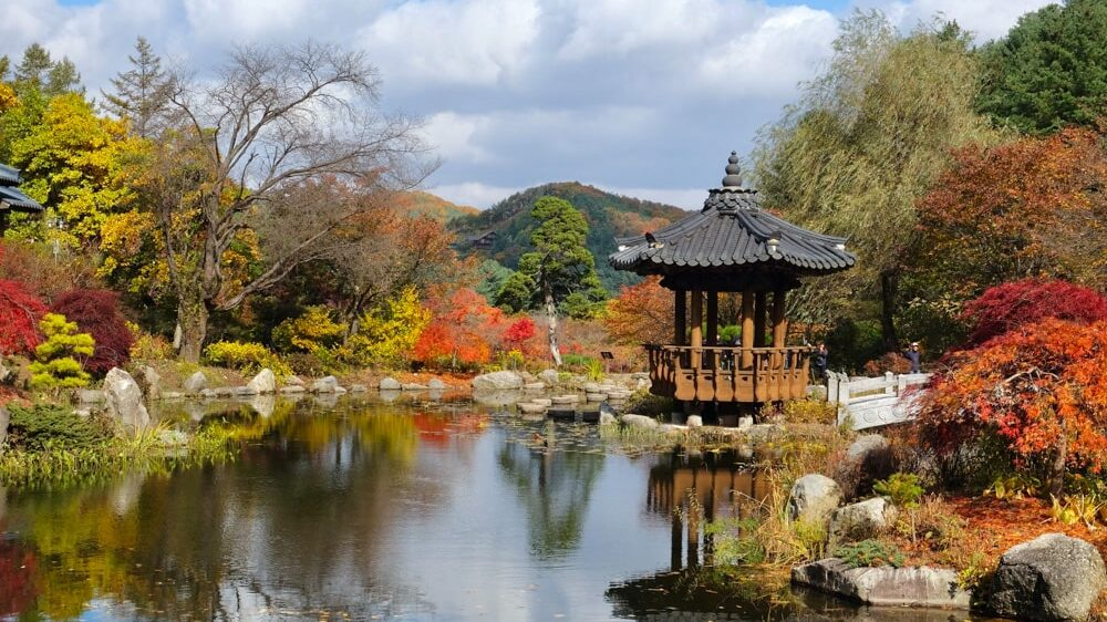 Korean Pond - Garden of Morning Calm