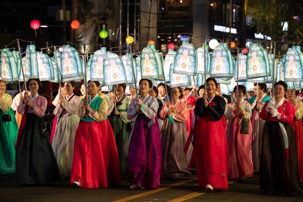 Lotus Lantern Festival Procession