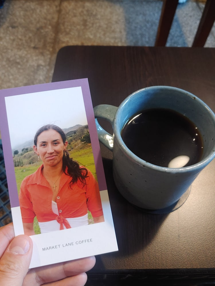 Coffee with a story
